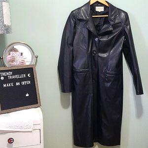 🖤❤Fairweather Black Trench Coat